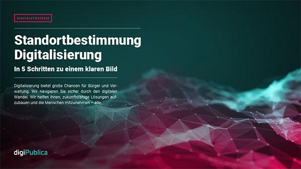 Standortbestimmung Digitalstrategie PDF Titelseite